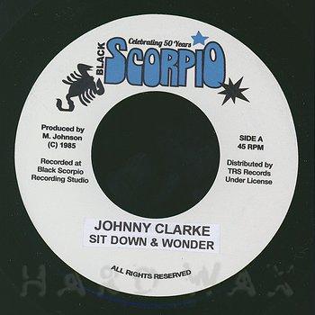 Cover art - Johnny Clarke: Sit Down & Wonder