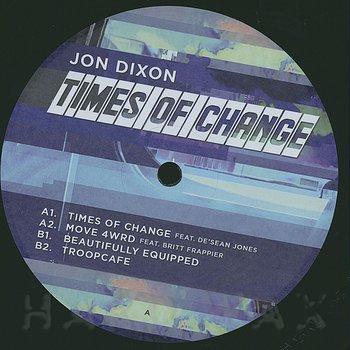 Cover art - Jon Dixon: Time Of Change
