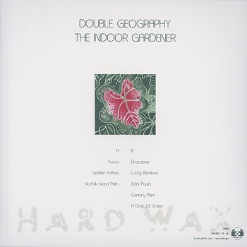 Cover art - Double Geography: The Indoor Gardener