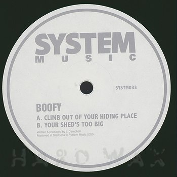Cover art - Boofy: Climb Out Of Your Hiding Place