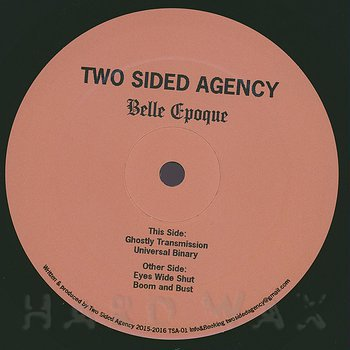 Cover art - Two Sided Agency: Belle Epoque