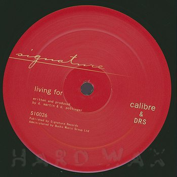 Cover art - Calibre & DRS: Whitehorses / Living For
