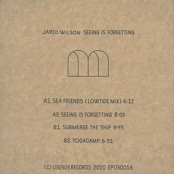 Cover art - Jared Wilson: Seeing Is Forgetting