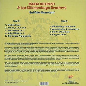 Cover art - Kakai Kilonzo & Les Kilimambogo Brothers: Buffalo Mountain