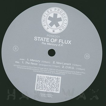 Cover art - State Of Flux: The Mercury EP