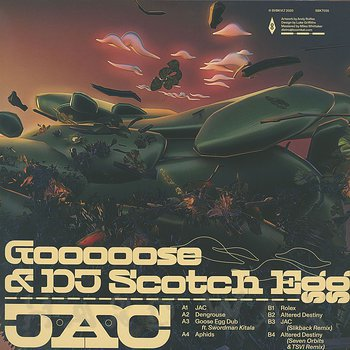 Cover art - Gooooose & DJ Scotch Egg: JAC