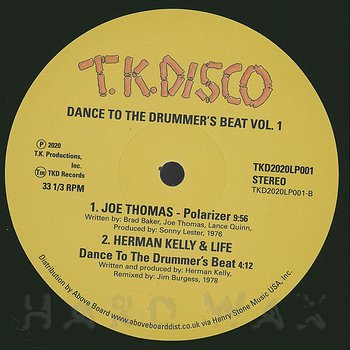 Cover art - Various Artists: Dance To The Drummer's Beat Vol. 1