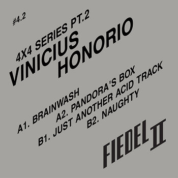 Cover art - Vinicius Honorio: 4x4 Series Pt.2
