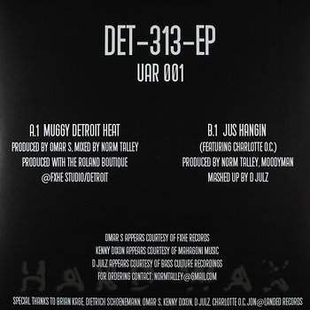 Cover art - Norm Talley: Det-313-EP