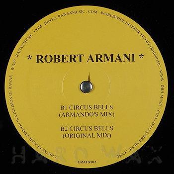 Cover art - Armando presents Robert Armani: Armani Trax